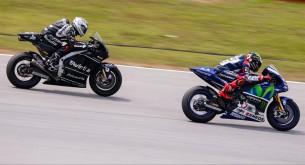 Хорхе Лоренцо и Эктор Барбера, MotoGP 2015