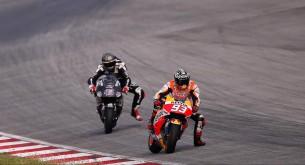 Марк Маркес и Скотт Реддинг, MotoGP 2015