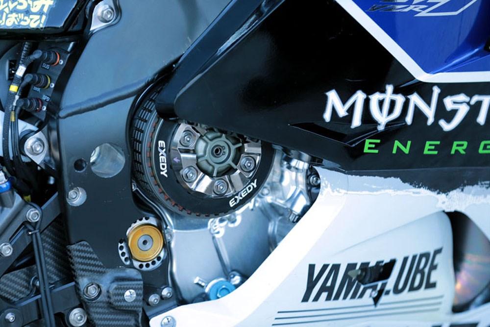 Yamaha MotoGP, бесшовная коробка передач