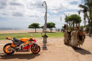 Презентация мотоцикла Honda RC213V MotoGP 2015 года