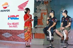Дани Педроса Марк Маркес, Repsol Honda MotoGP, 2015