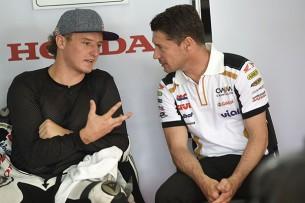 Джек Миллер и Лучио Чеккинелло, CWM LCR Honda, MotoGP 2015