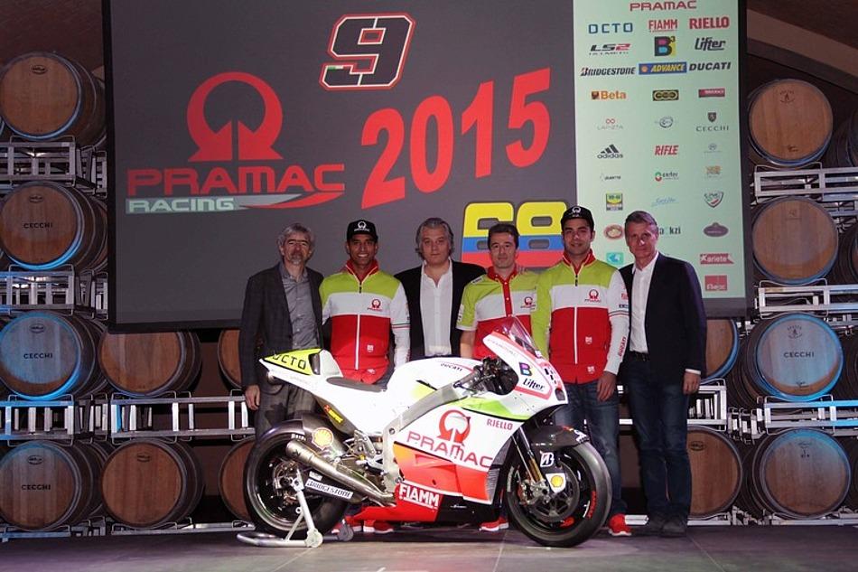 Pramac Racing MotoGP презентовала новую раскраску мотоцикла