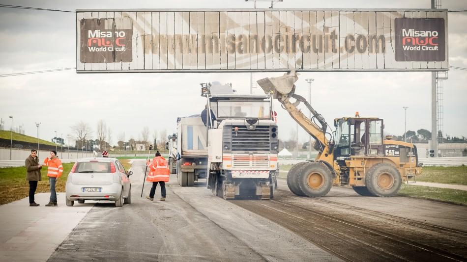 Трасса Мизано: Новый асфальт и повышение безопасности