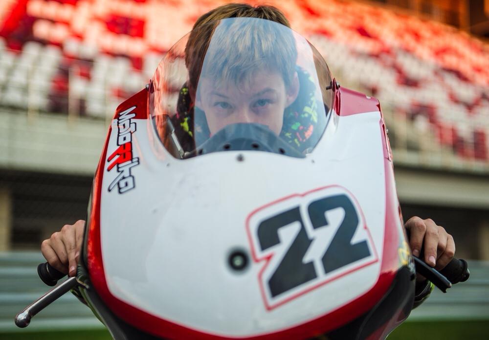 Никита Калинин - еще один участник чемпионата RedBull Rookies Cup