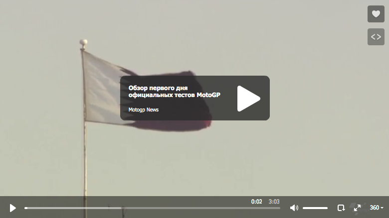 Обзор первого дня официальных тестов MotoGP 2015 в Катаре