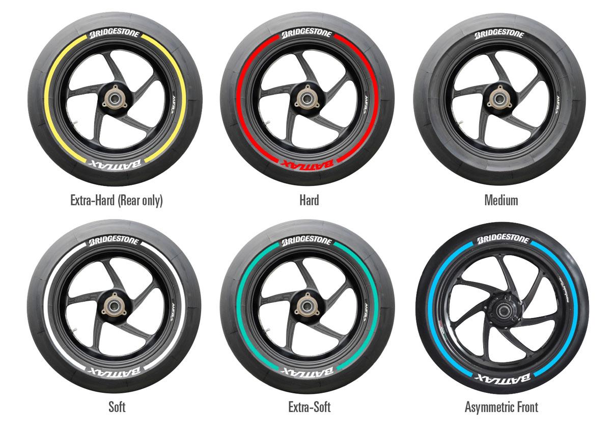 Линейка Bridgestone MotoGP 2015
