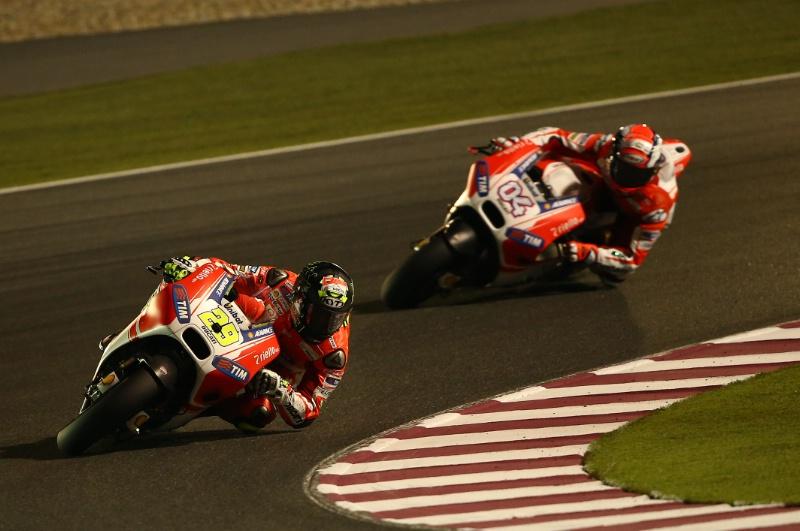 Ианноне и Довициозо, Ducati MotoGP 2015