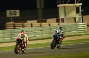 Маркес и Лоренцо, MotoGP 2015
