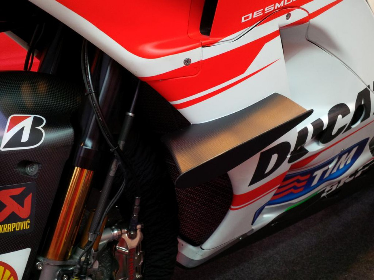 Луиджи Даллинья в буквальном смысле окрылил Ducati GP15