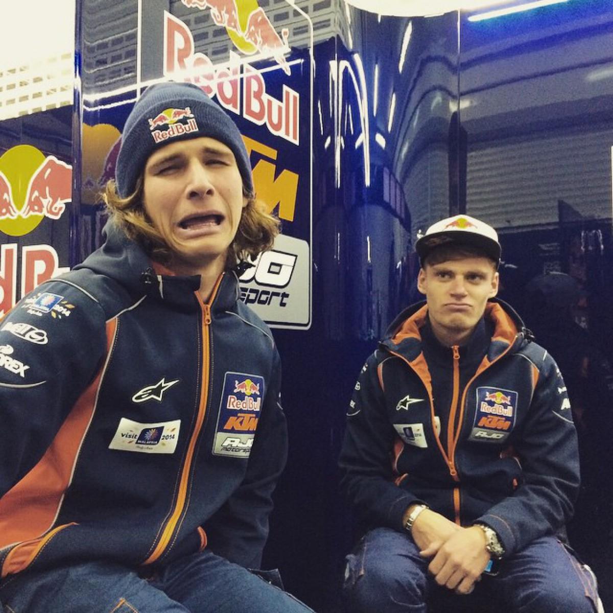 Карел Ханика и Брэд Биндер, пилоты Red Bull KTM Ajo