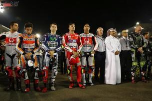 Гонщики MotoGP
