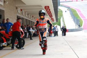 Марк Маркес, квалификация Гран-При Америк 2015