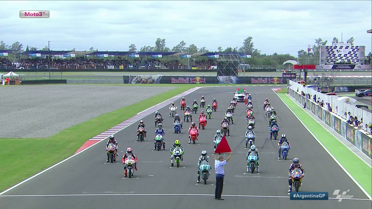 Гонка Moto3 Гран-При Аргентины 2015 (ENG, HD)