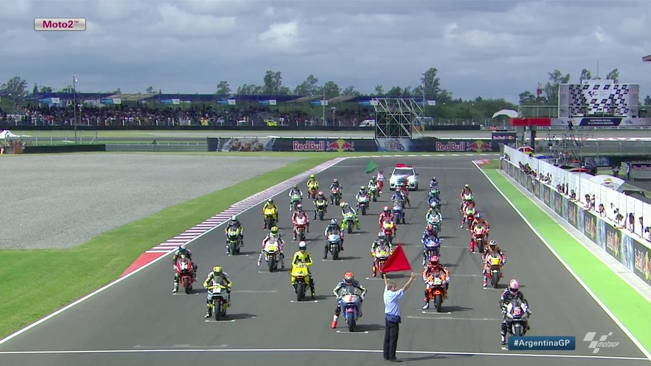 Гонка Moto2 Гран-При Аргентины 2015 (ENG, HD)