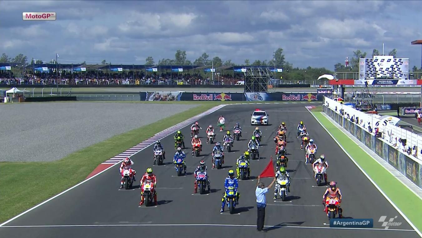Гонка MotoGP Гран-При Аргентины 2015 (ENG, HD)