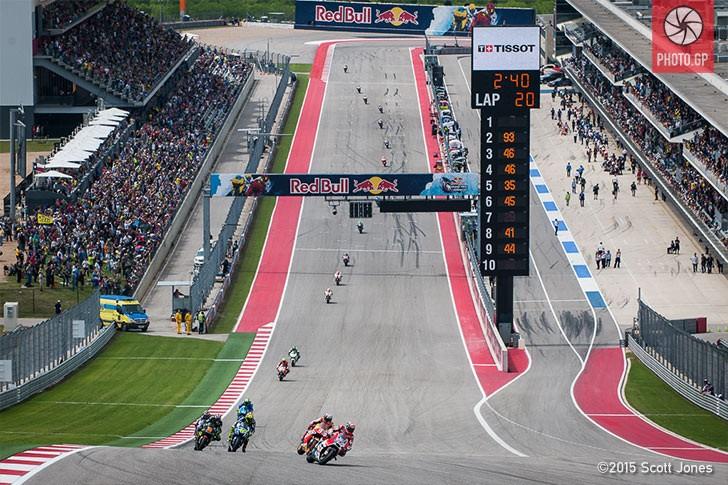 Результаты гонки MotoGP Гран-При Америк 2015 в фотографиях