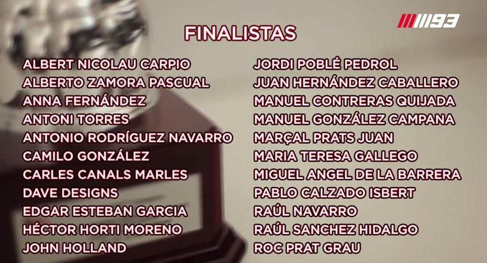 Финалисты конкурса дизайна, организованного Марком Маркесом