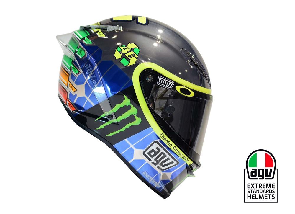 Новый дизайн шлема Валентино Росси к Гран-При Италии 2015