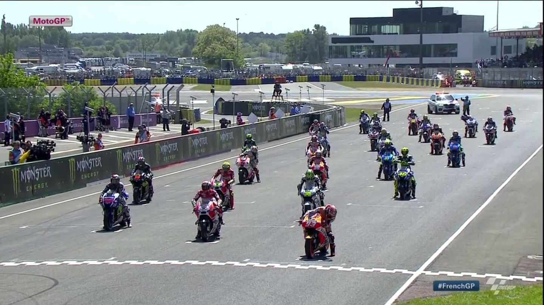 Гонка MotoGP Гран-При Франции 2015 (ENG, HD)