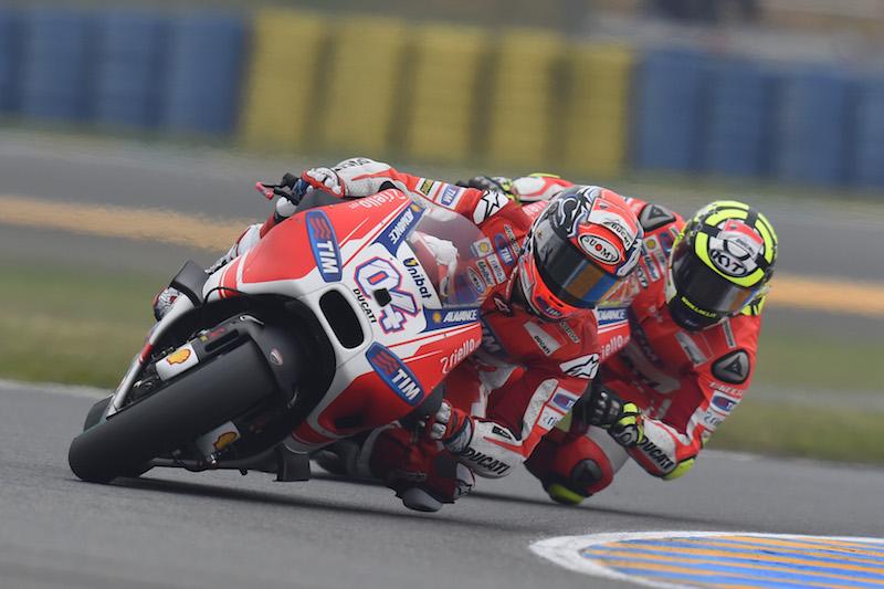 Андреа Довициозо и Андреа Ианноне, Ducati Team