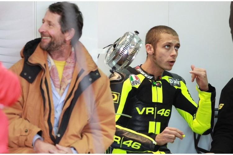 Валентино и Грациано Росси