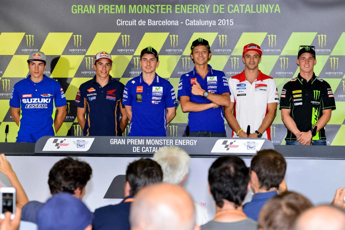 Пресс-конференция MotoGP в Каталонии (2015)
