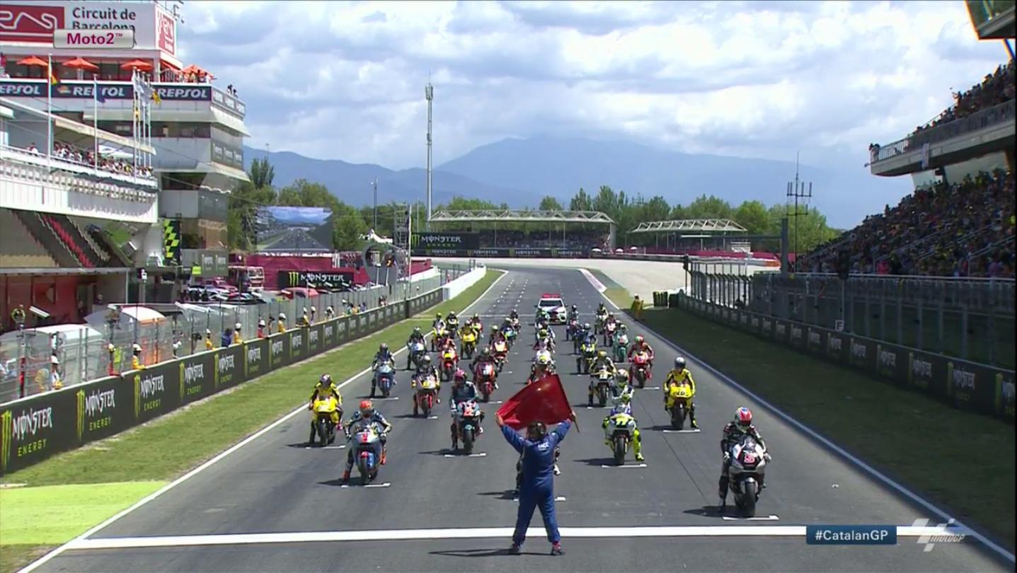 Гонка Moto2 Гран-При Каталонии 2015 (ENG, HD)