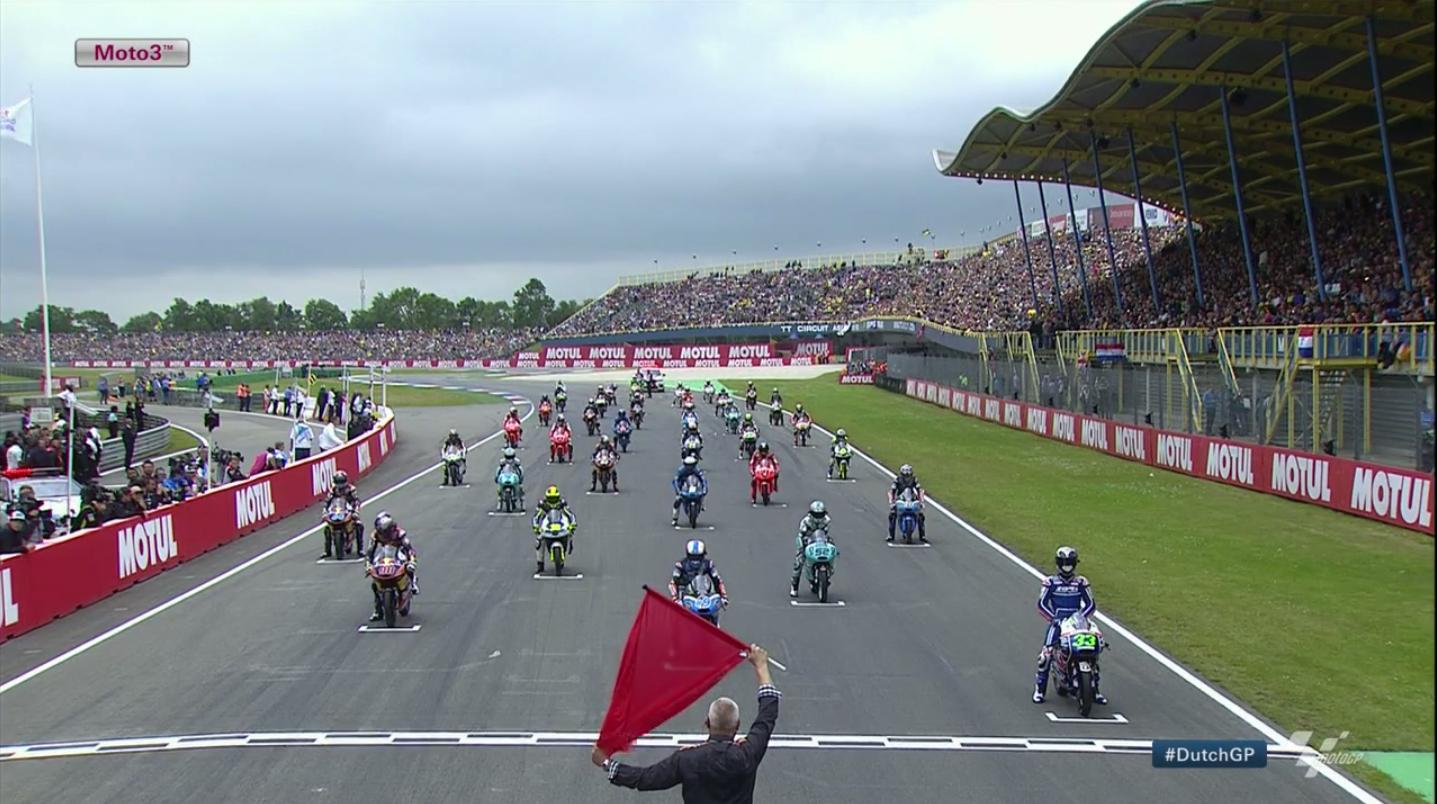 Гонка Moto3 Гран-При Нидерландов 2015 (ENG, HD)