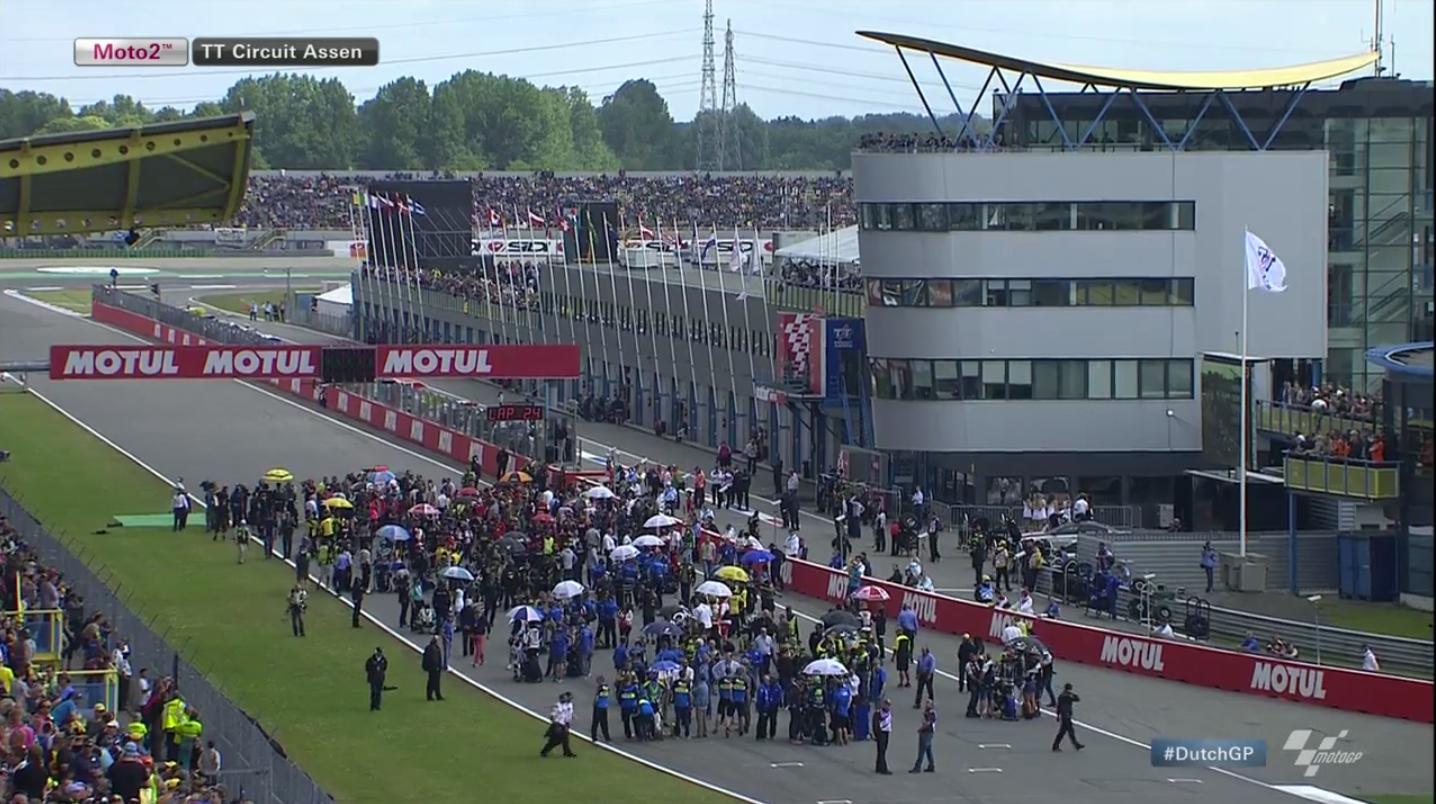 Гонка Moto2 Гран-При Нидерландов 2015 (ENG, HD)