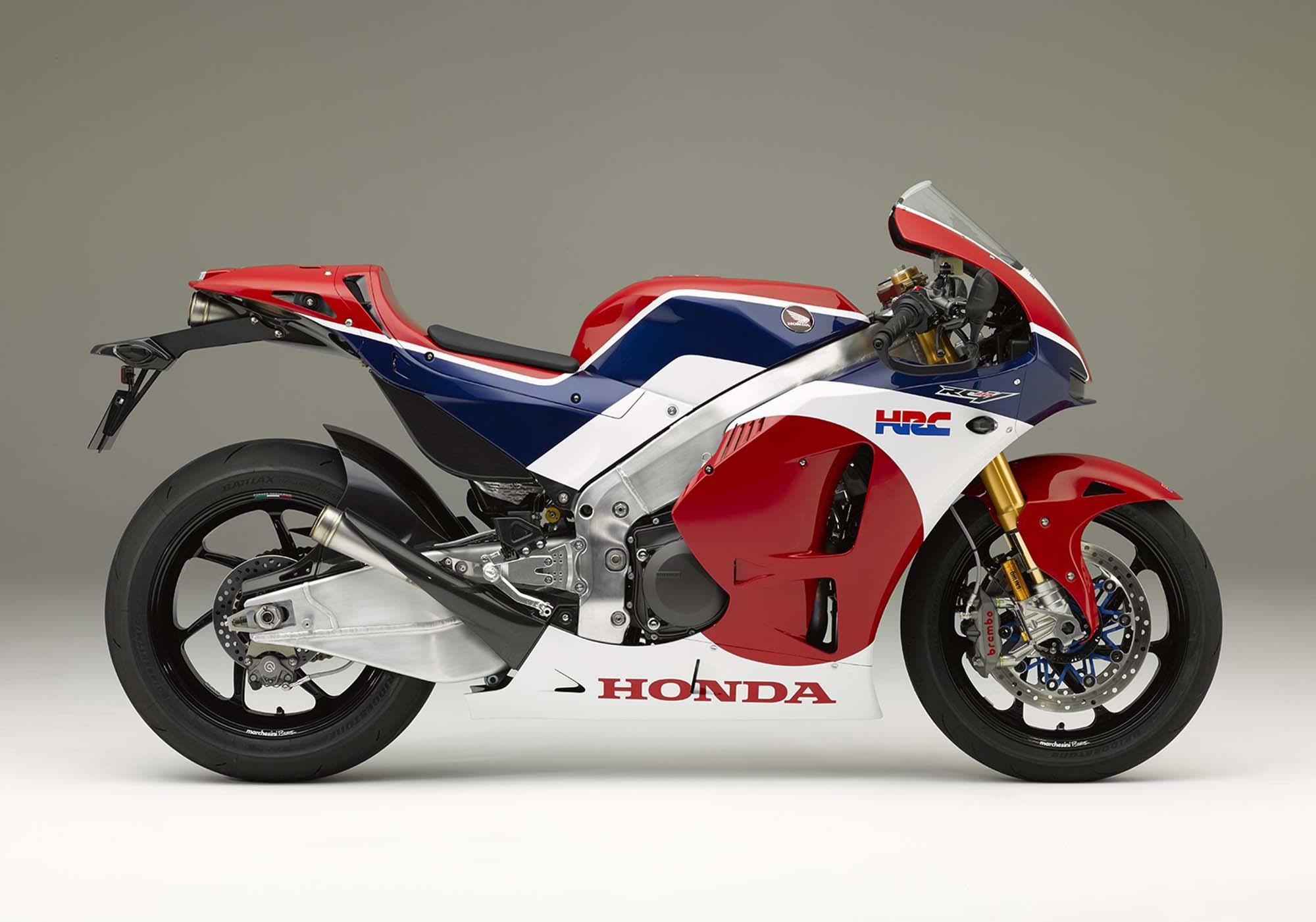 Презентация Honda RC213V-S