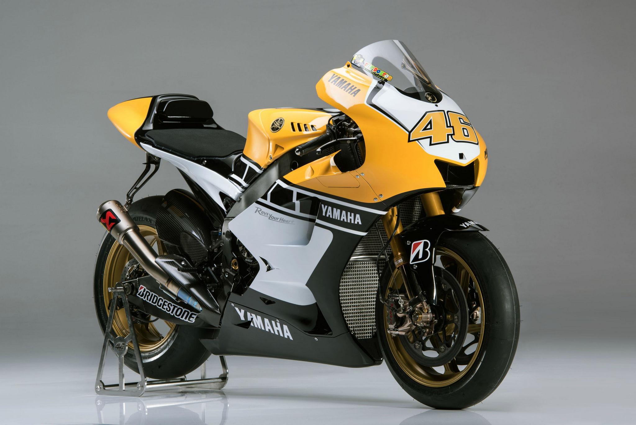 Yamaha YZR-M1 (60-летие марки, 2015)