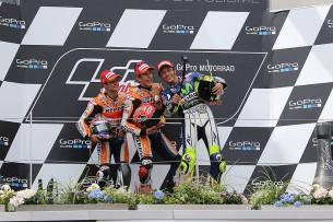 Селфи на подиуме MotoGP