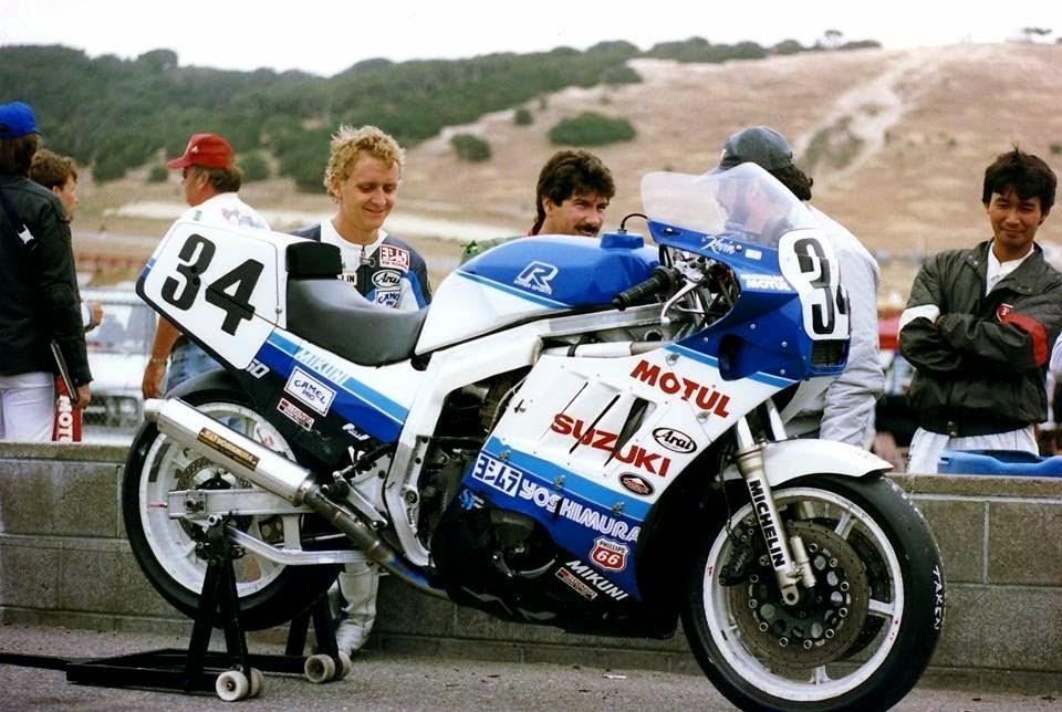 Кевин Шванц и его Yoshimura Suzuki GSX-R750 (1987)