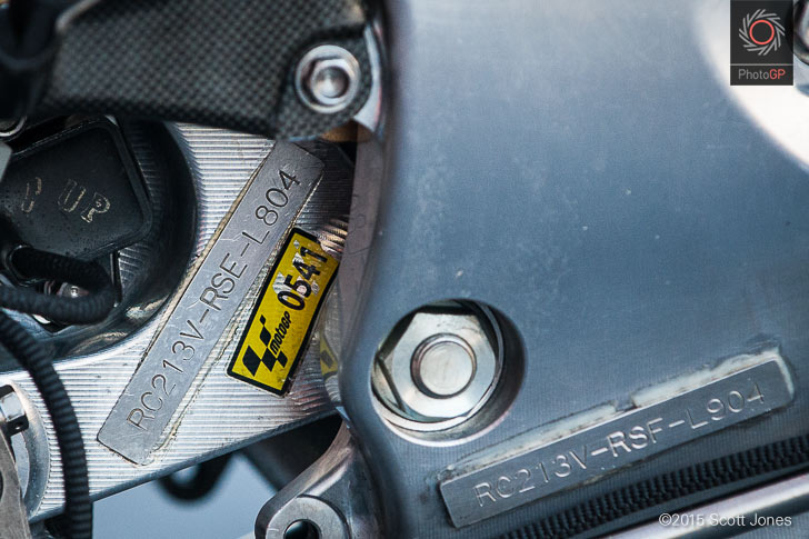 Маркировка шасси Honda RC213V-RS (S.Jones)