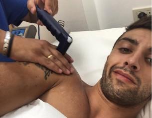 Андреа Ианноне продолжает бороться с больным плечом