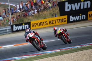 Штефан Брадль и Альваро Баутиста, Гран-При Чехии, MotoGP 2015