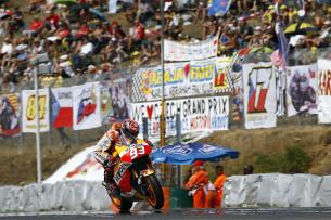 Марк Маркес. Гран-При Чехии, MotoGP 2015