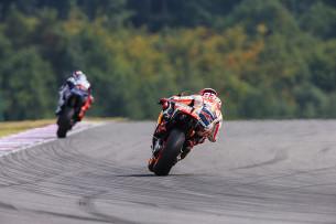 Хорхе Лоренцо и Марк Маркес. Гран-При Чехии, MotoGP 2015