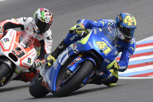 Алейш Эспаргаро и Данило Петруччи, Гран-При Чехии, MotoGP 2015