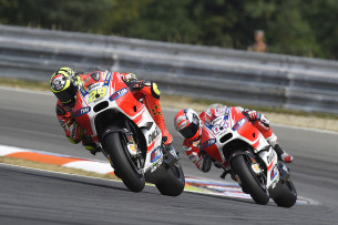 Ианноне и Довицозо, Гран-При Чехии, MotoGP 2015