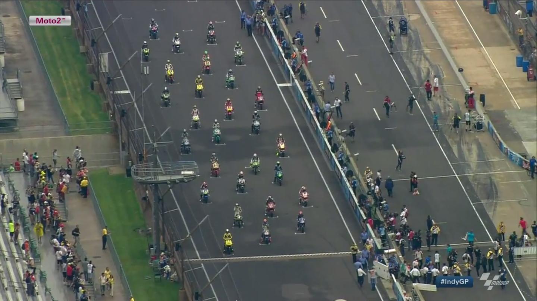 Гонка Moto2 Гран-При Индианаполиса 2015