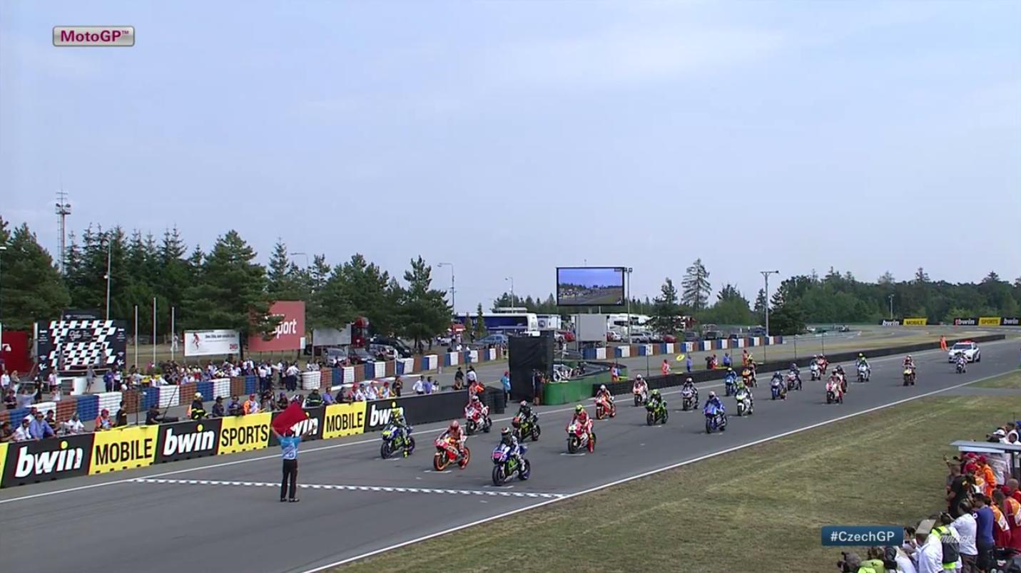 Гонка MotoGP Гран-При Чехии 2015 (ENG, HD)