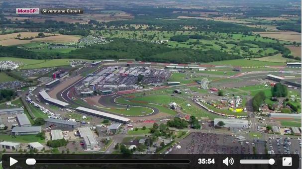 Квалификация MotoGP Гран-При Великобритании 2015 (ENG, HD):