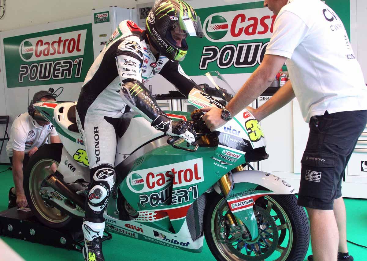 Мотоцикл Кэла Крачлоу в ливрее Castrol