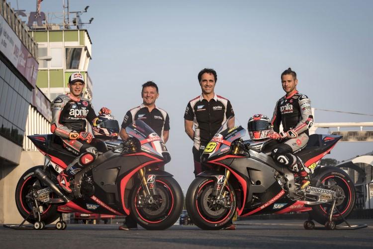 Брадль и Баутиста, Aprilia, MotoGP 2015