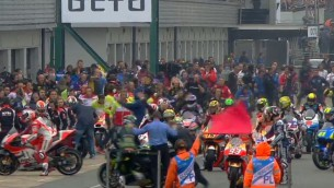 Старт гонки MotoGP Гран-При Великобритании отложен до 15:25 по МСК