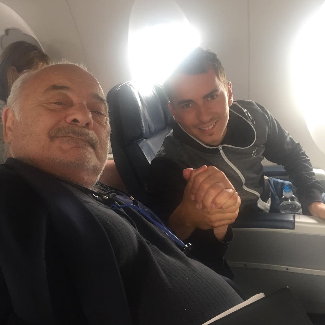 Хорхе Лоренсо встретил в самолете Бёрта Янга