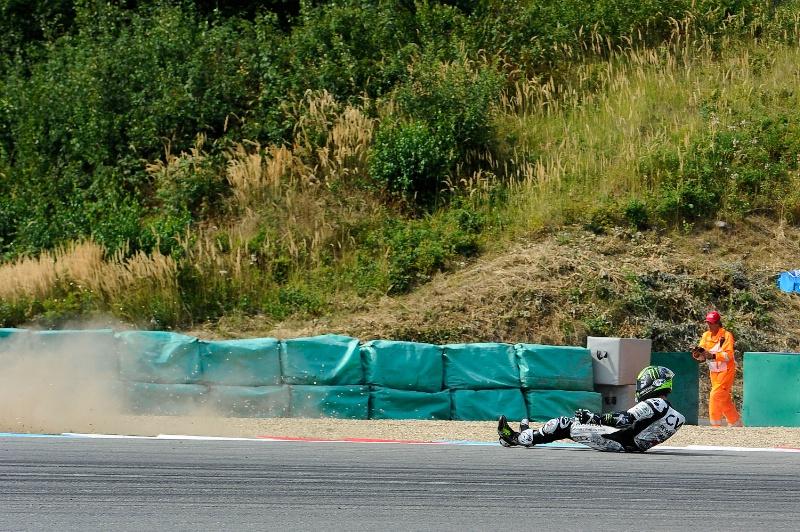 Кэл Крачлоу - падение, Гран-При Чехии, 2015, MotoGP