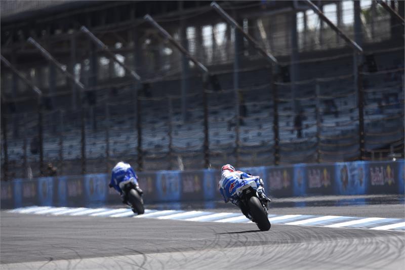 Виньялес и Эспаргаро, Suzuki Ecstar, MotoGP 2015